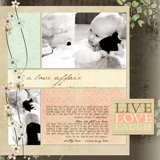 Fast Scrapbook Page Inspiration · Quick Baby Scrapbook Pages · Ideas for