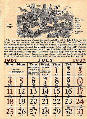 printable calendars july. Freebie: Vintage July Calendar