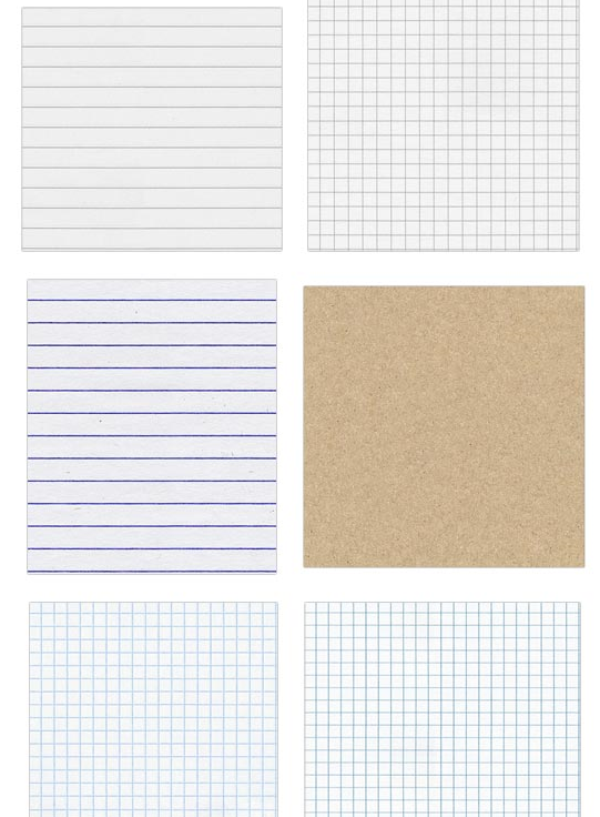 my life in lowercase: free seamless notebook papers to ...