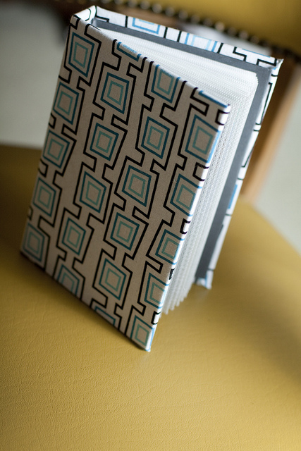 Tutorial Fabric Covered Photo Album