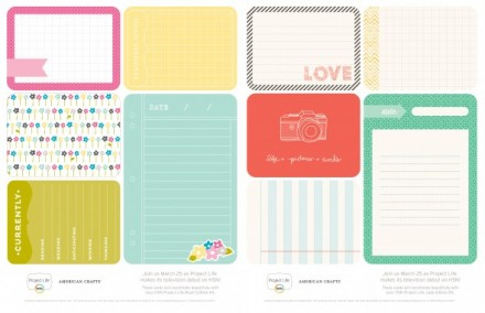 Free Project Life HSN Printable from Becky Higgins