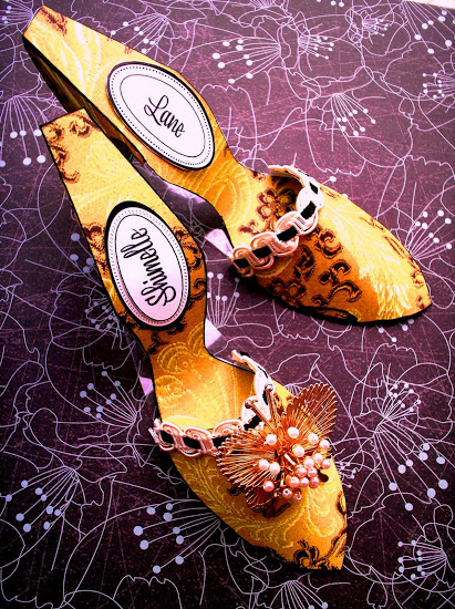 Tutorial - Vintage Shanghai Shoes  by Sandy Ang